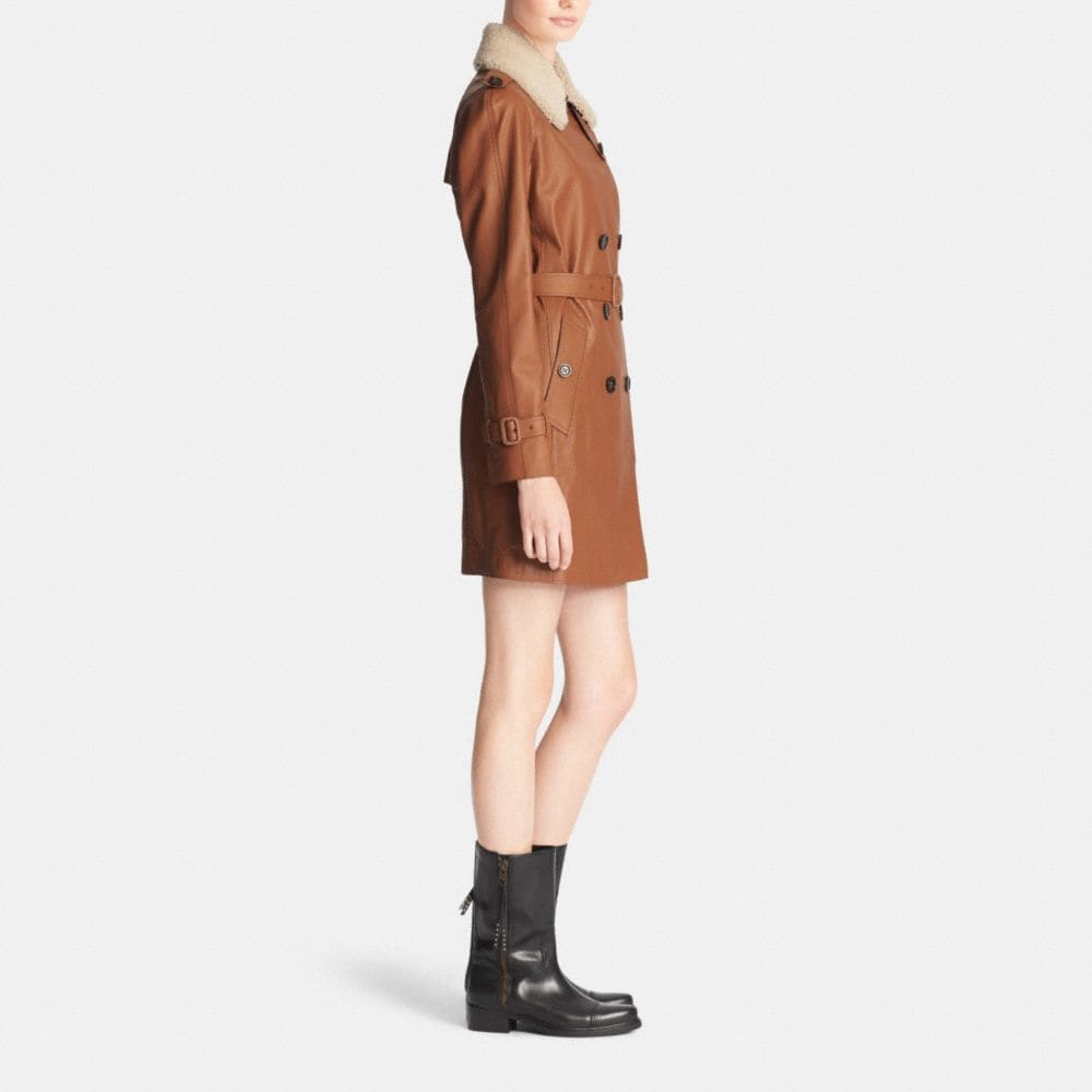 ICON LEATHER TRENCH - Alternate View M2