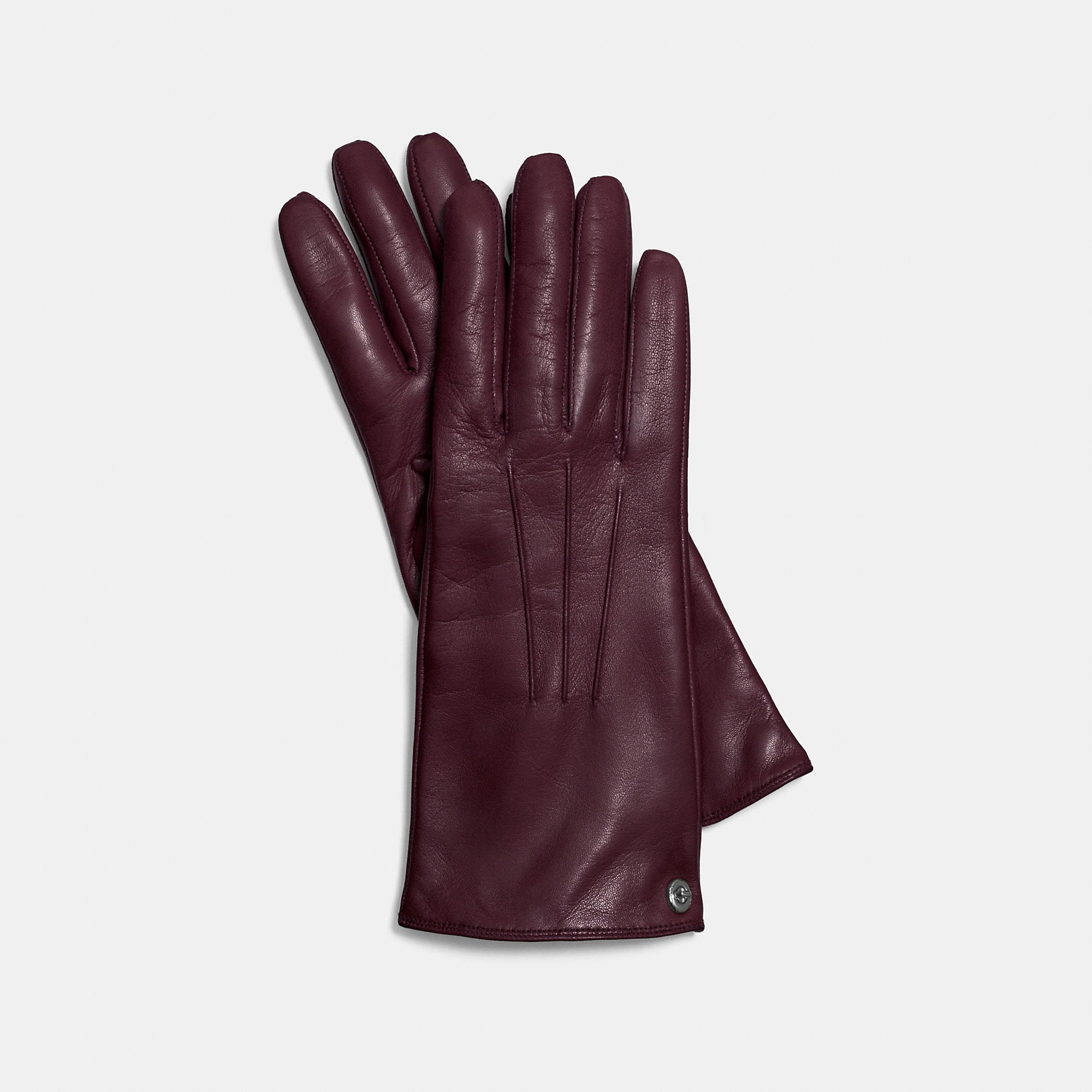 Coach Iconic Leather Glove