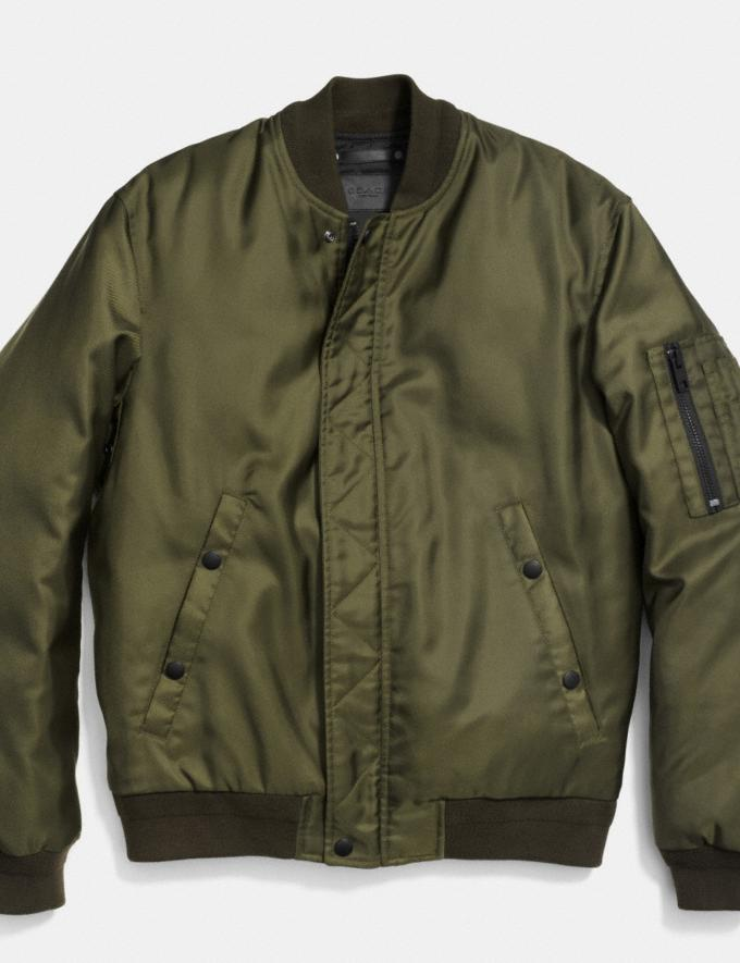 Coach Ma-1 Jacket in Nylon Surplus New Men's New Arrivals View All
