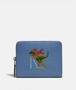 SMALL ZIP AROUND WALLET WITH REXY