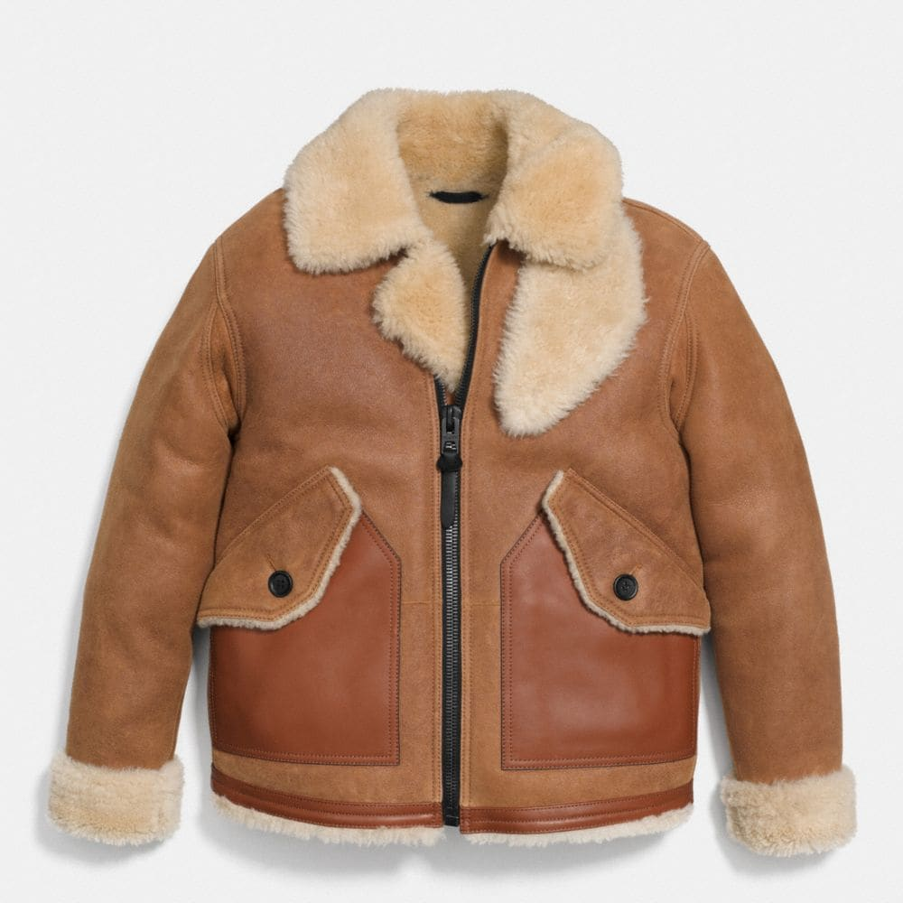 SHEARLING B3 BOMBER JACKET