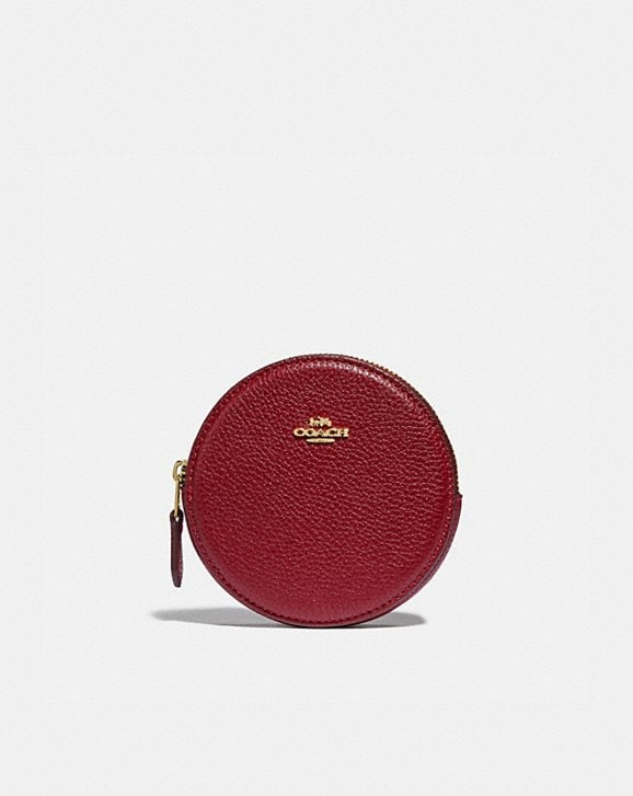 Coach ROUND COIN CASE