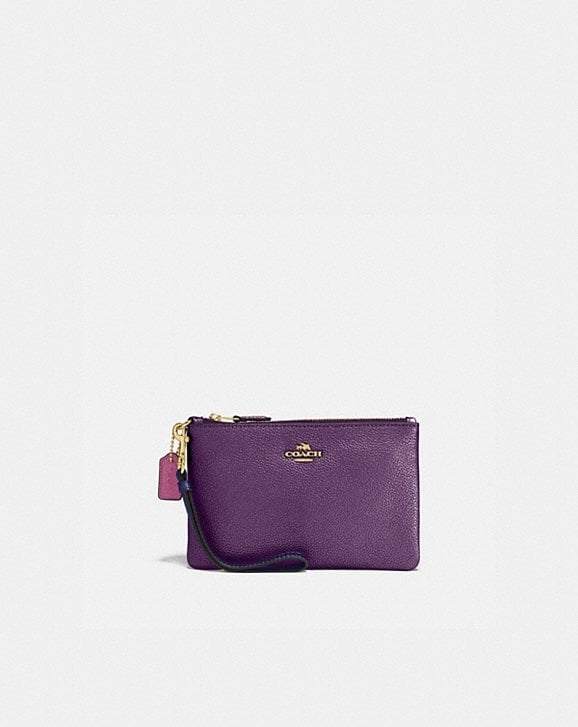 Coach SMALL WRISTLET IN COLORBLOCK