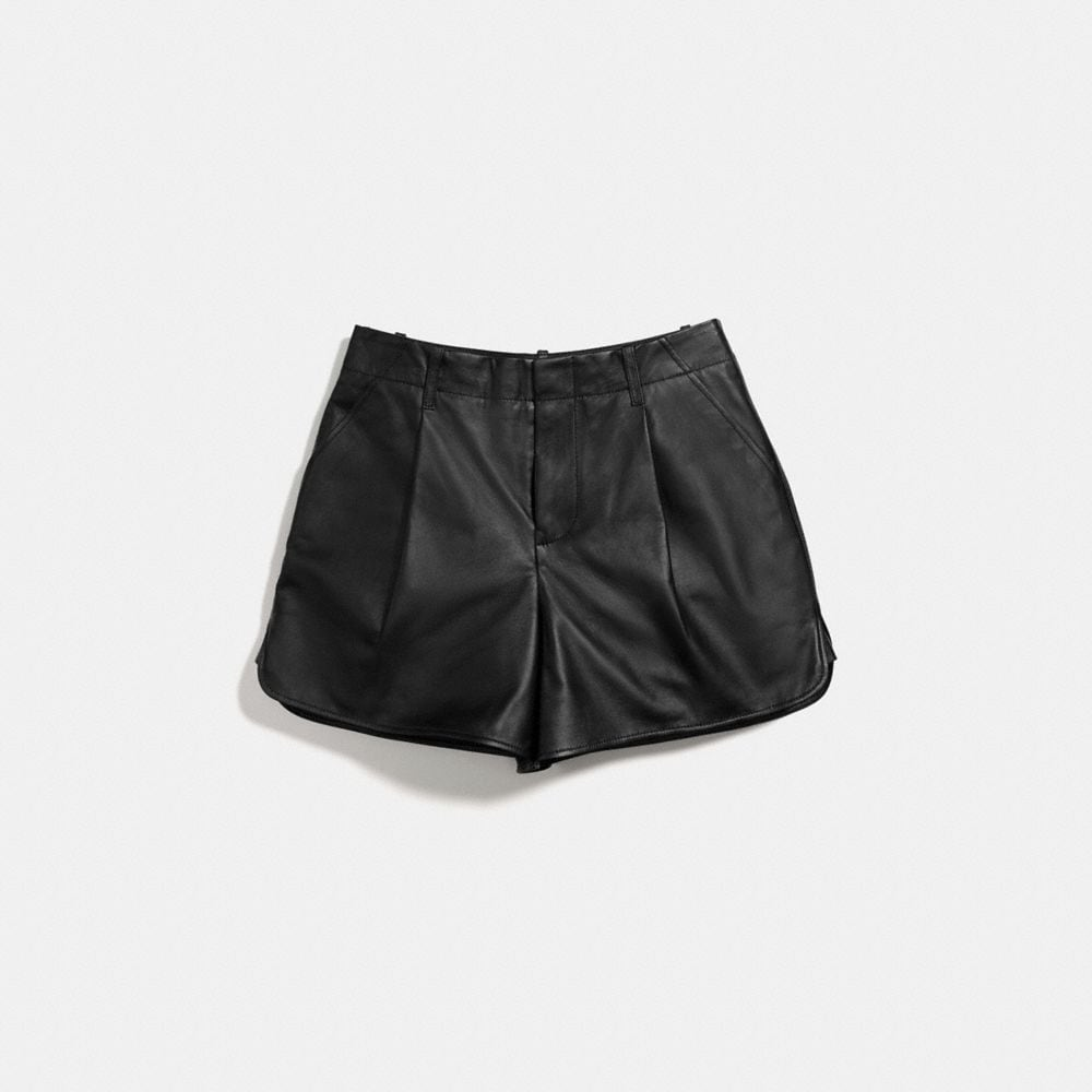 Coach Leather Short