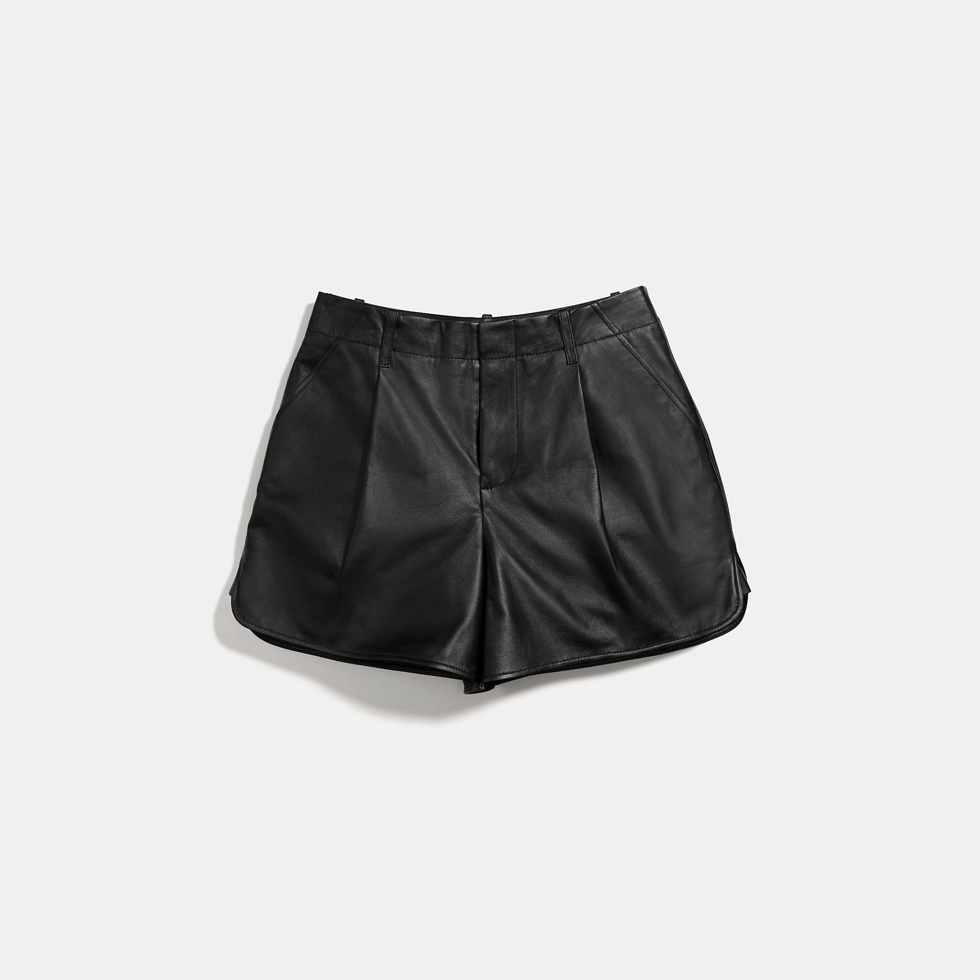 Coach Leather Short