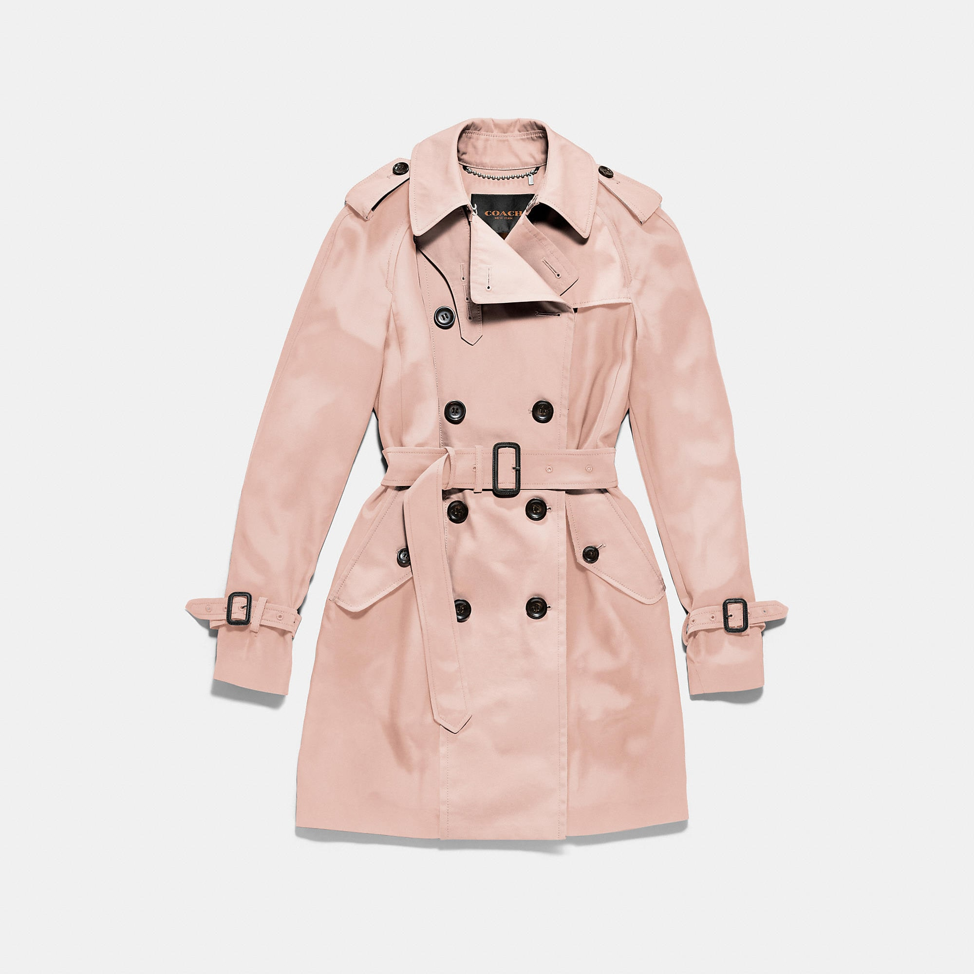 Coach Satin Combo Trench