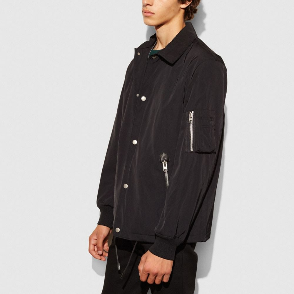 NYLON COACH JACKET