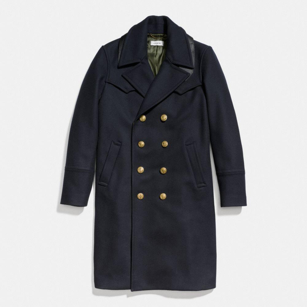 Coach Wool Captains Coat
