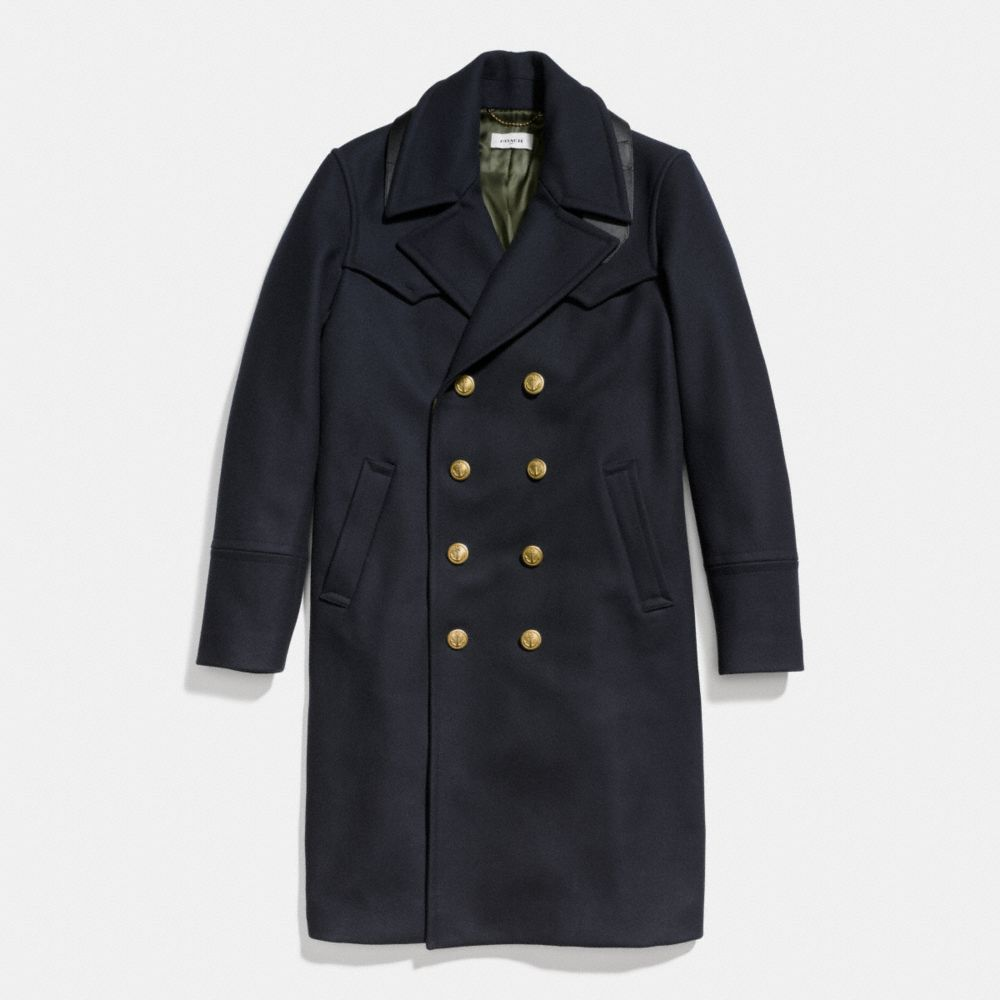 Coach Wool Captains Coat