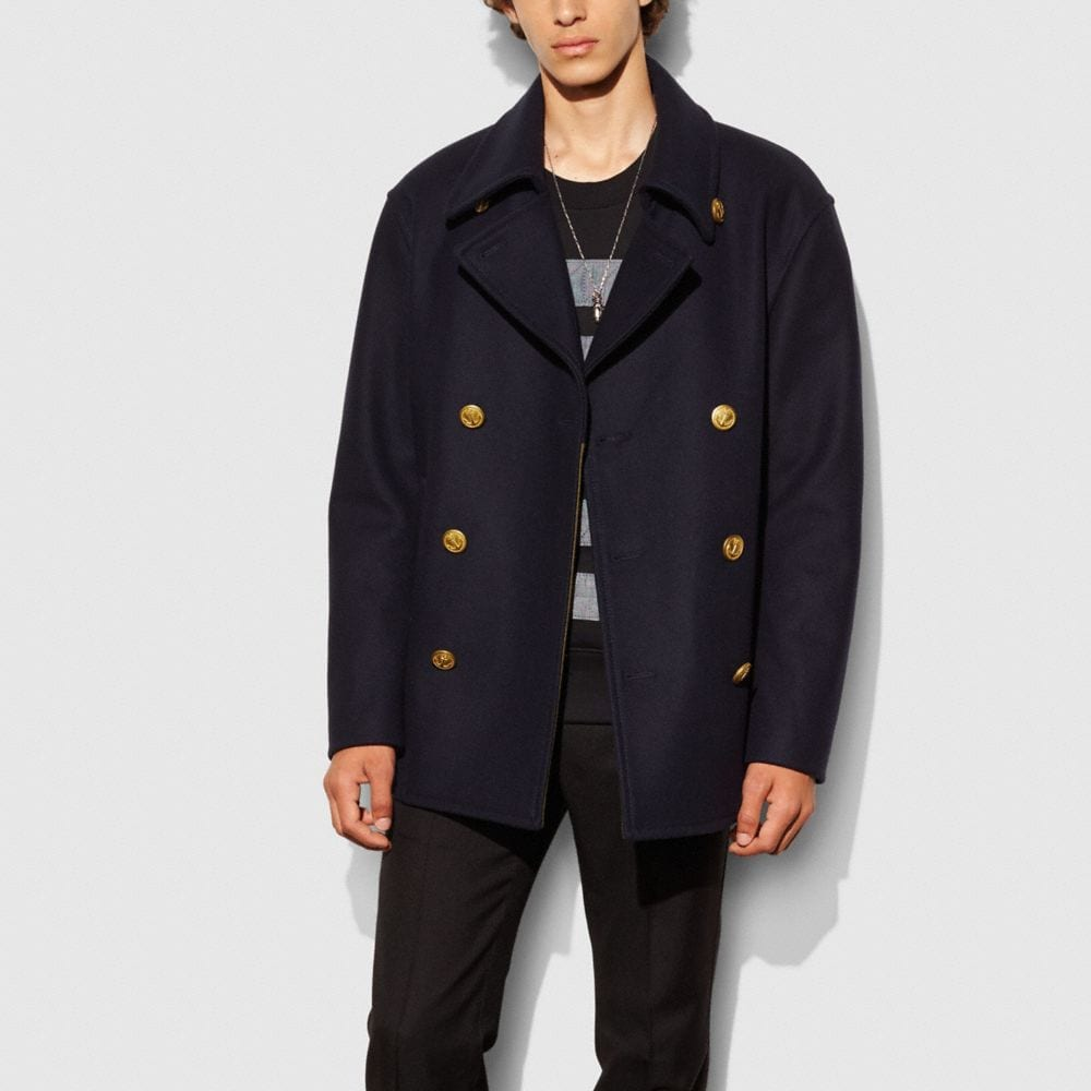 Coach Wool Mariners Coat