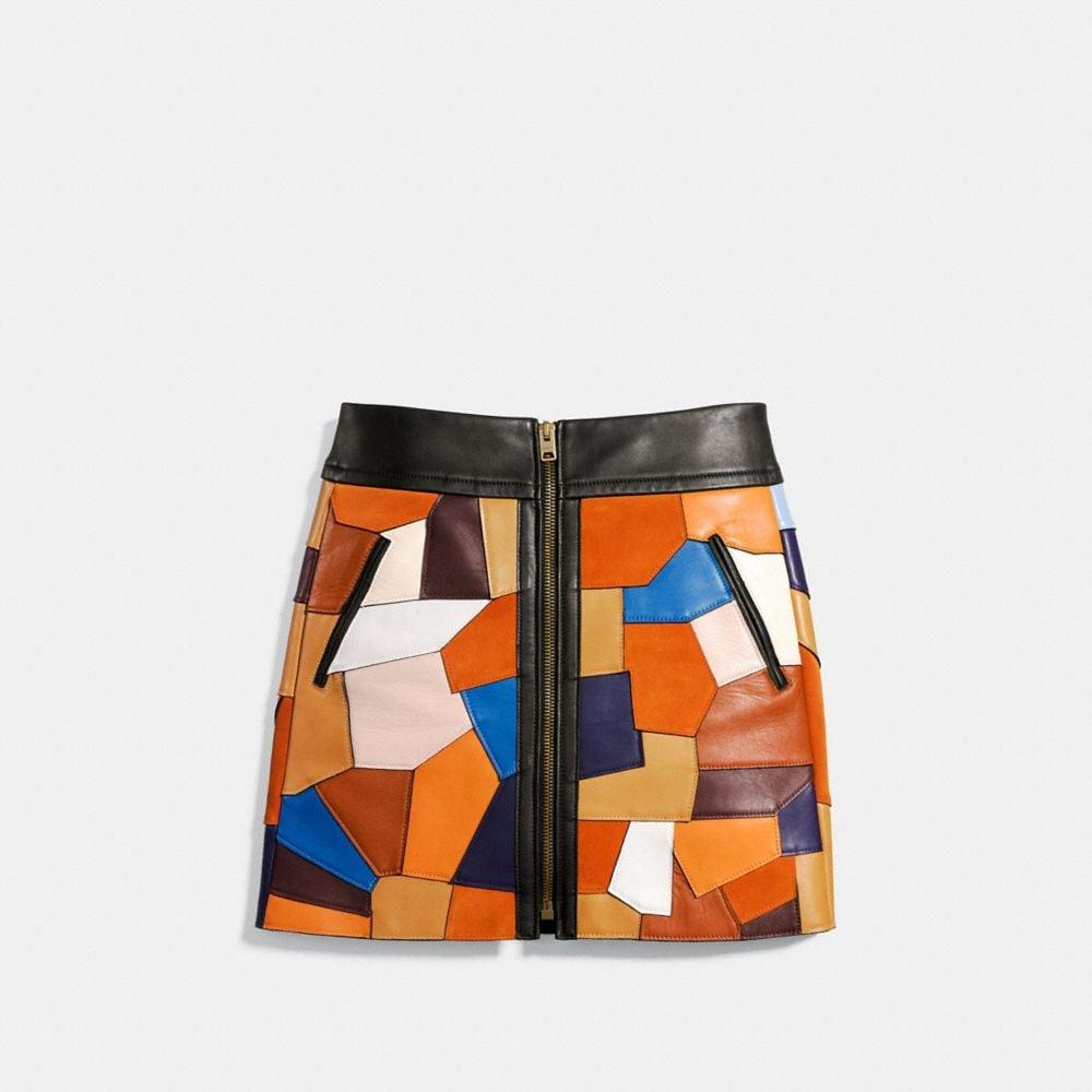 Patchwork Skirt - Alternate View A1