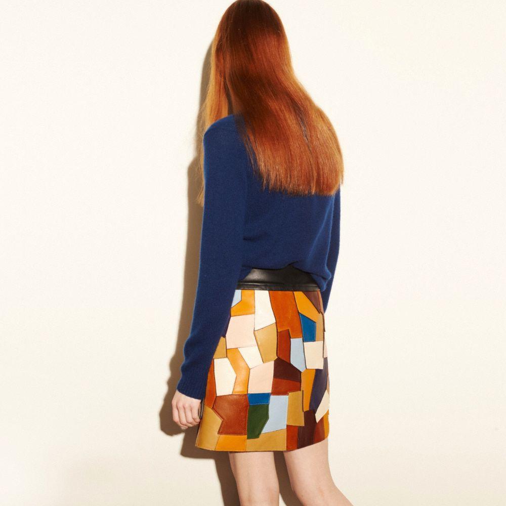 Patchwork Skirt - Alternate View M