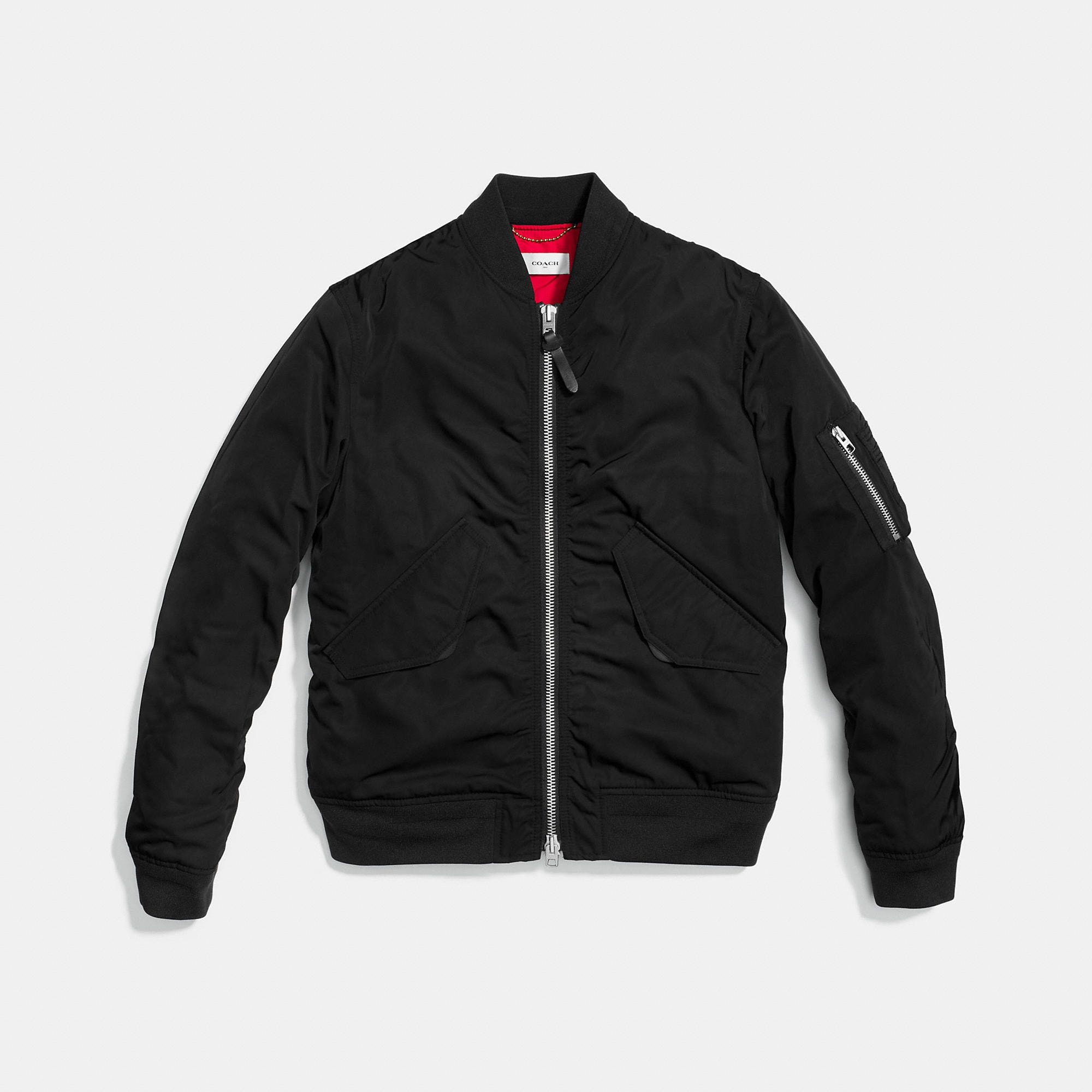 Coach Quilted Ma-1 Jacket