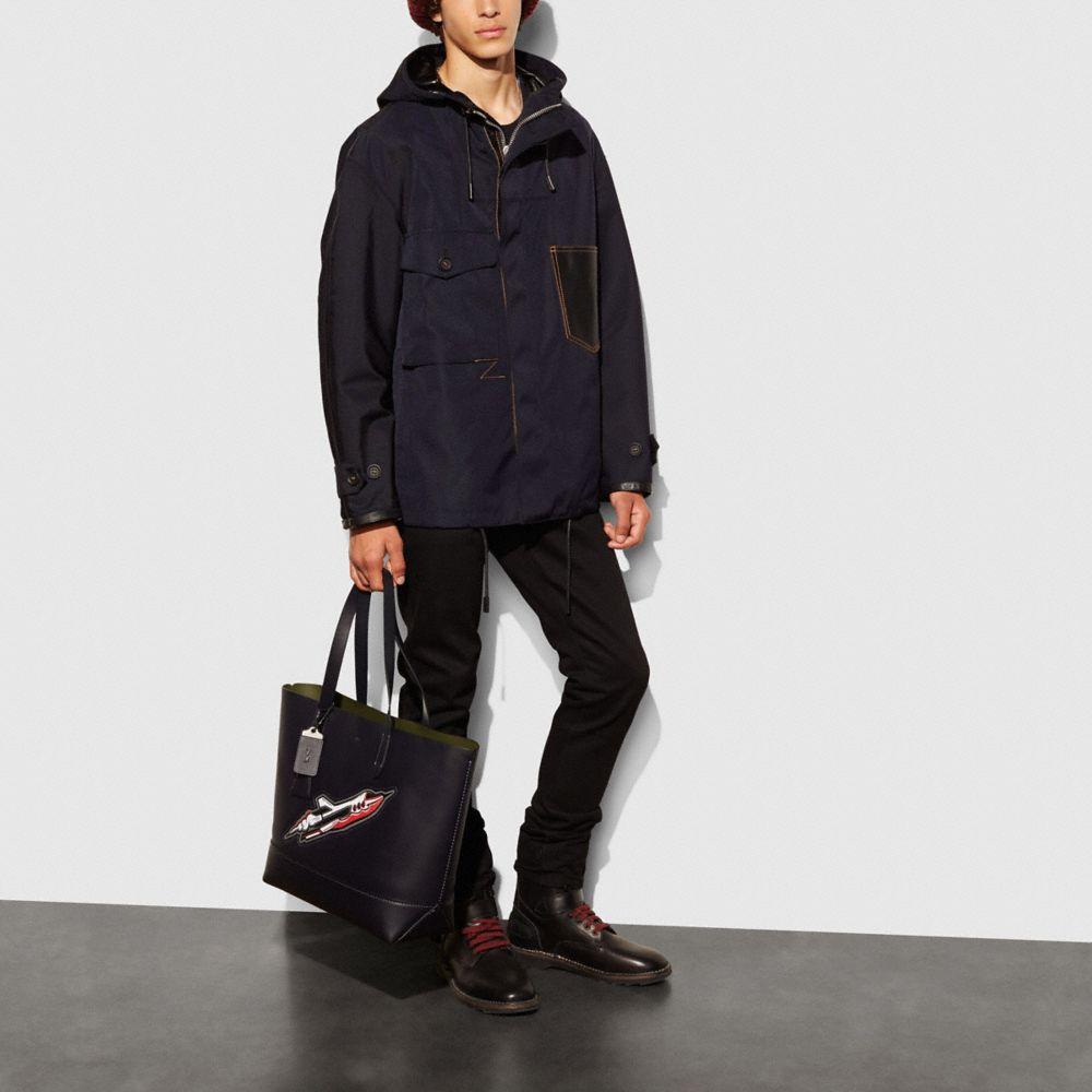 Indigo Kimono Jacket