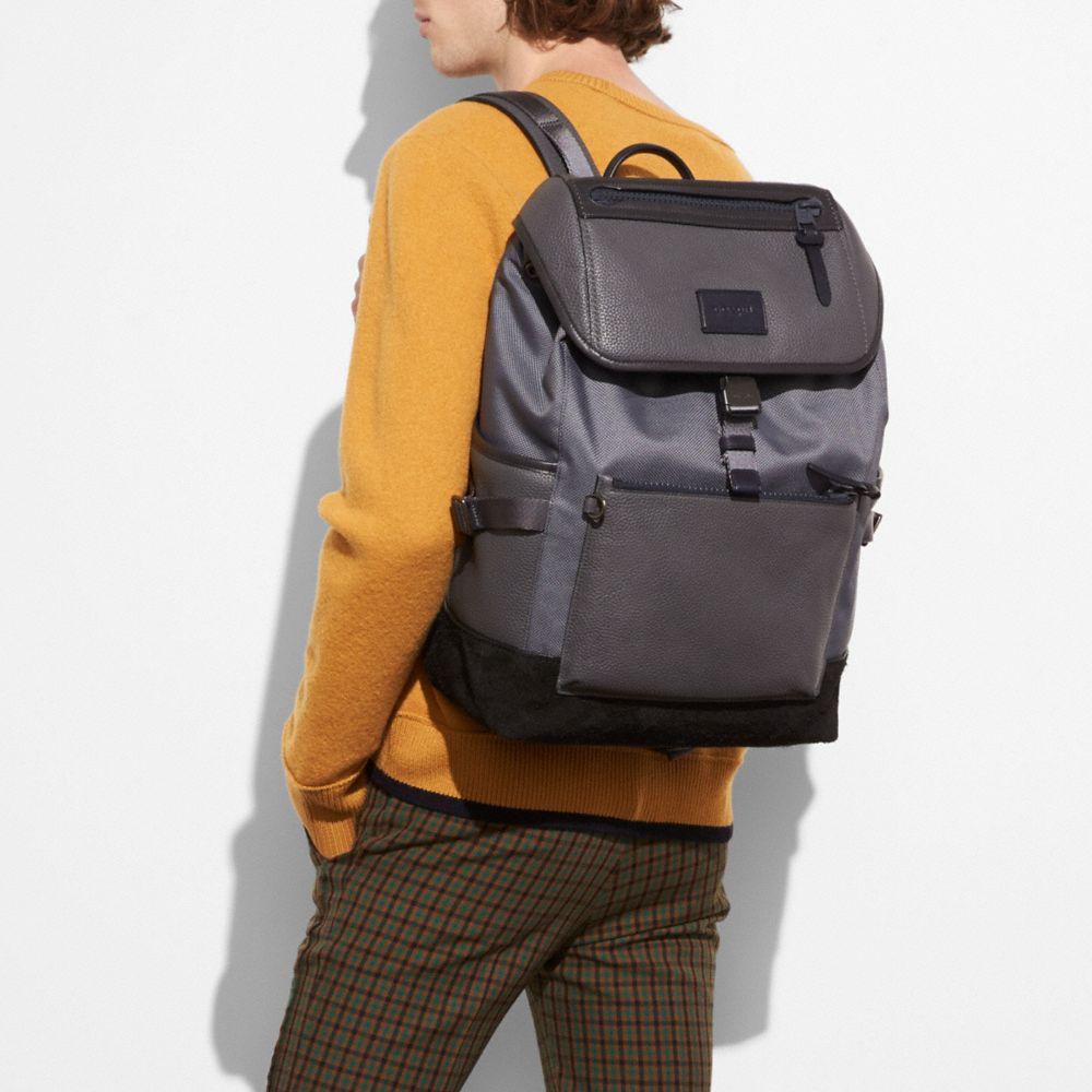 Coach Manhattan Backpack Alternate View 3
