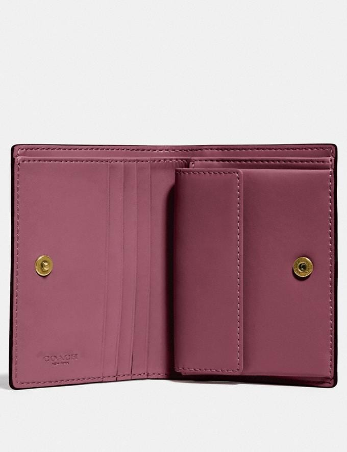 Coach Small Snap Wallet With Apple B4/Red Apple  Alternative Ansicht 1