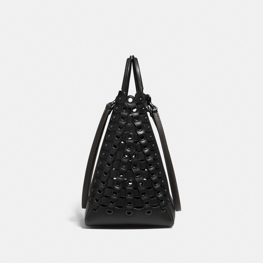 Coach Rogue Tote With Coach Link Detail Alternate View 5