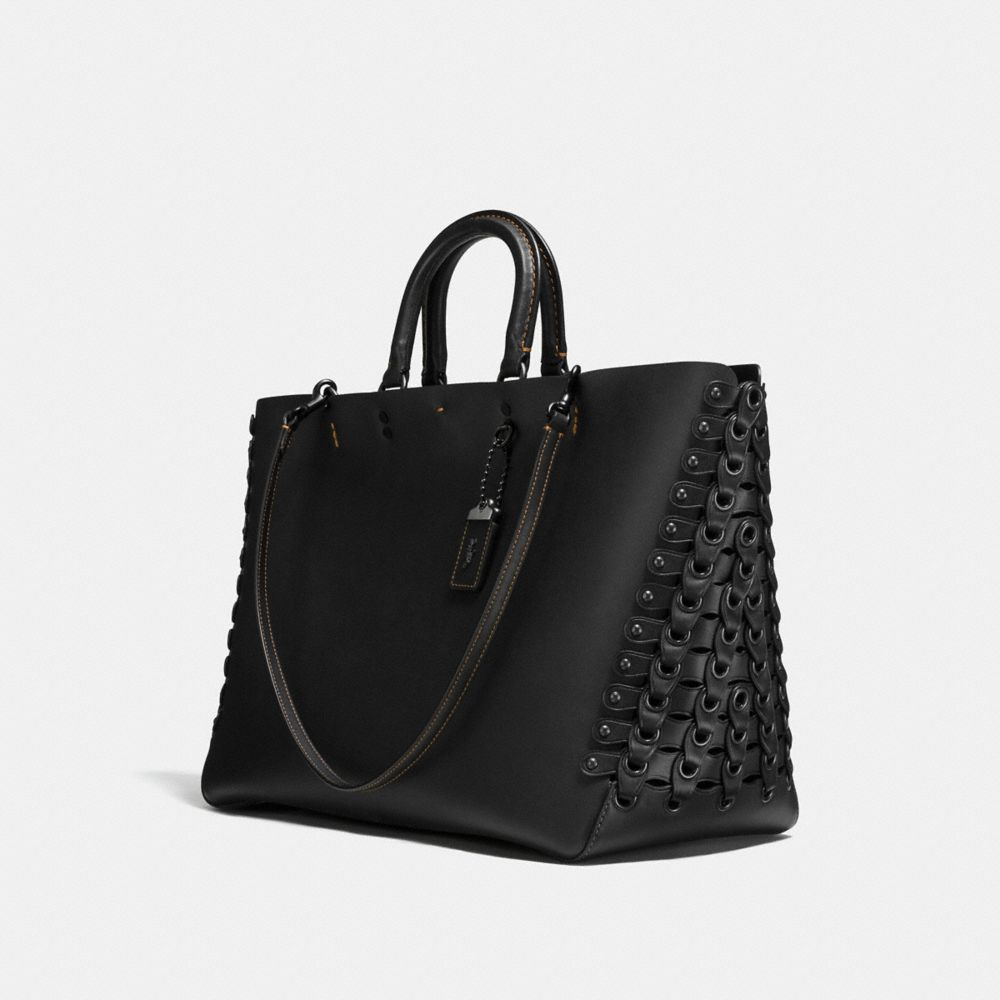 Coach Rogue Tote With Coach Link Detail Alternate View 1