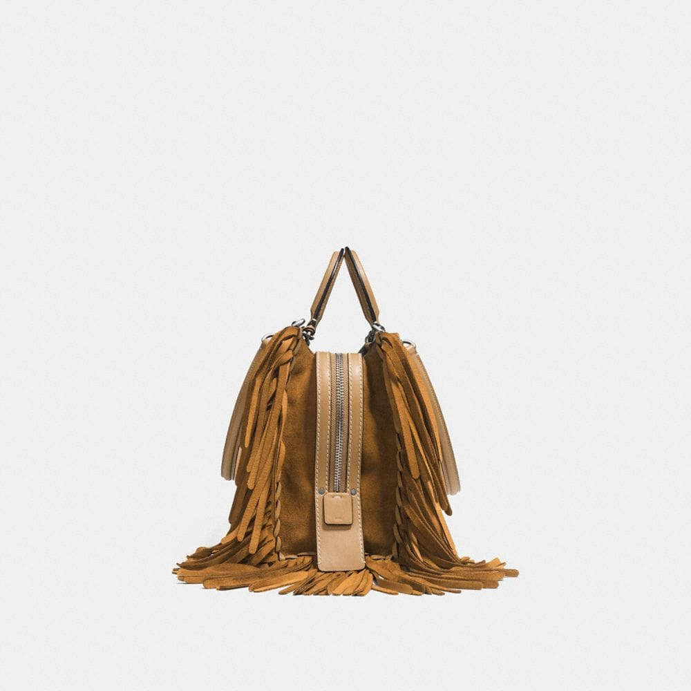 Rogue in Cervo Suede With Fringe - Alternate View A1