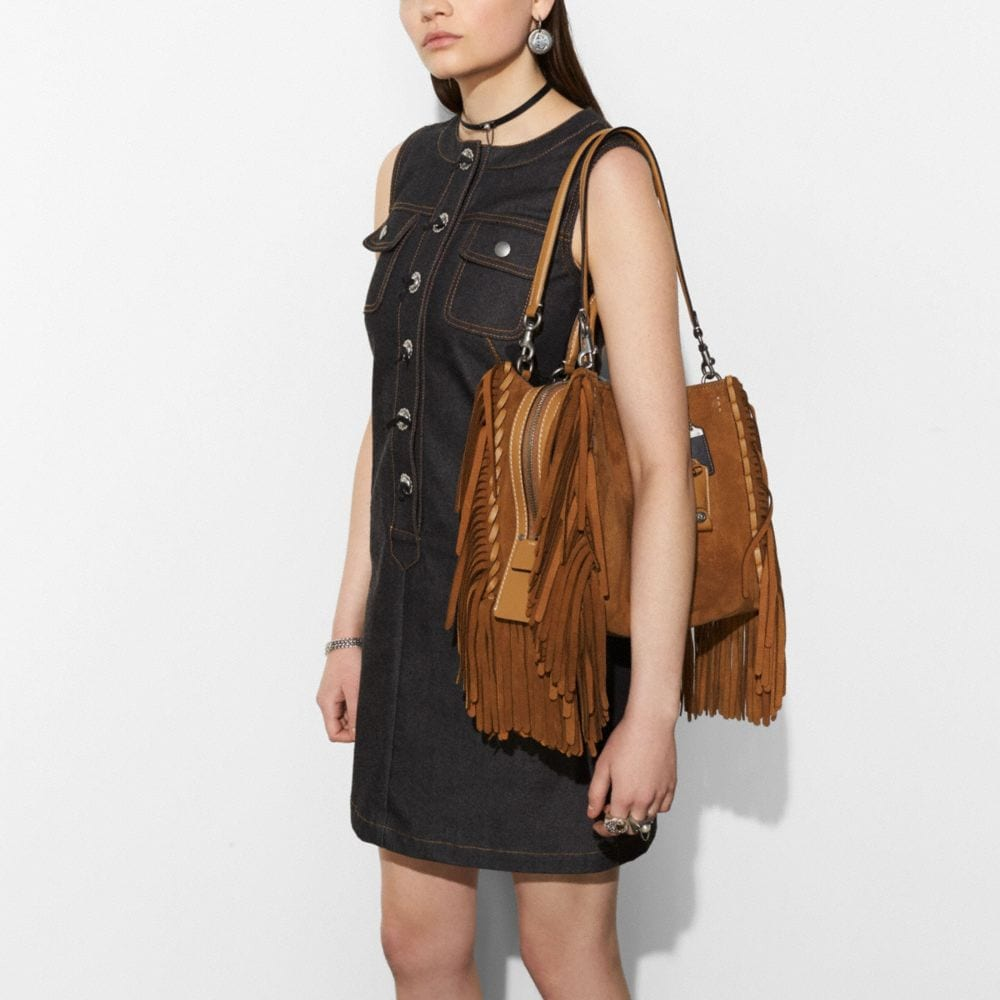 Coach Rogue With Fringe Alternate View 3