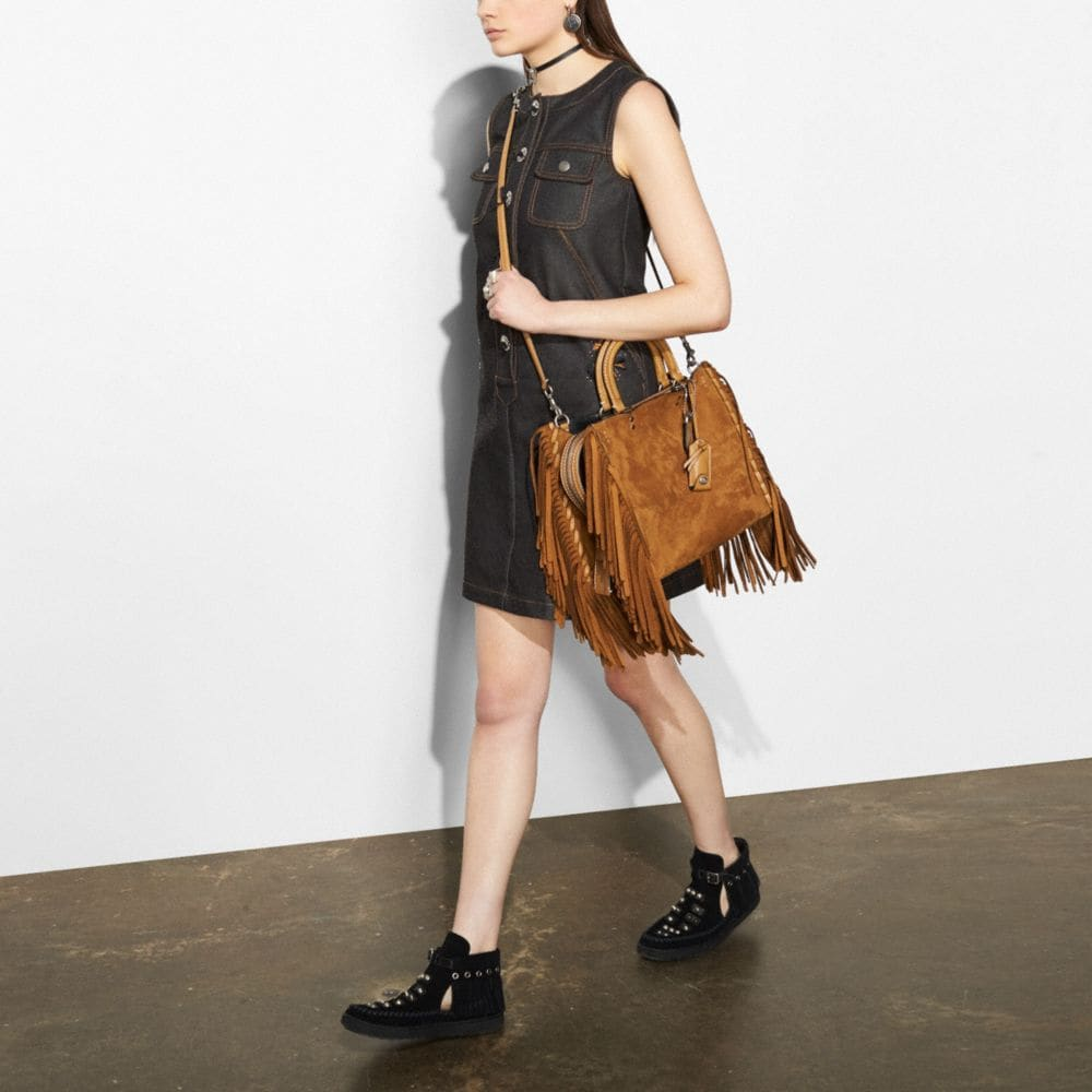 Coach Rogue With Fringe Alternate View 4