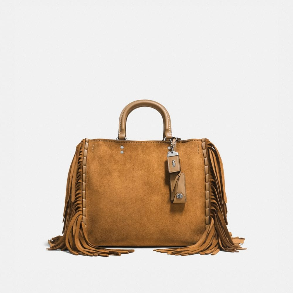 Rogue in Cervo Suede With Fringe