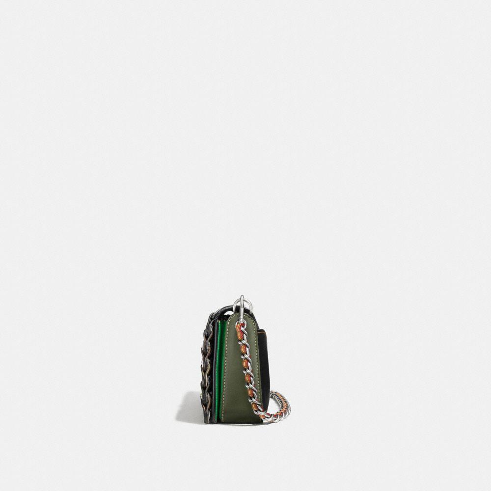 Dinky in Colorblock Coach Link Leather - Visualizzazione alternativa A1