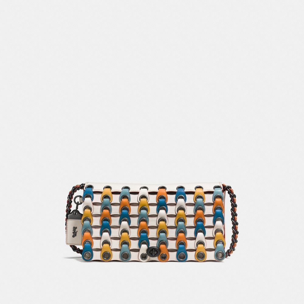 Dinky in Colorblock Coach Link Leather