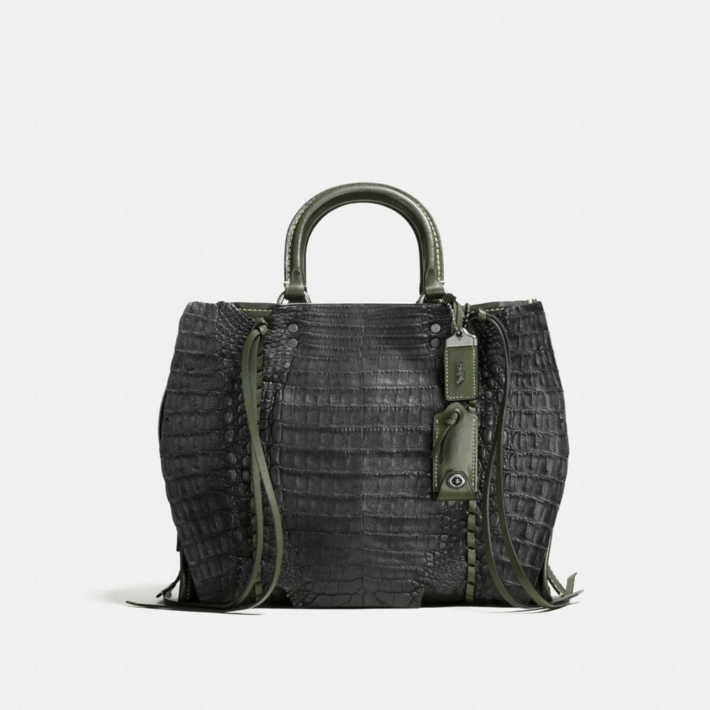Rogue in Glovetanned Leather With Whipstitch Crocodile
