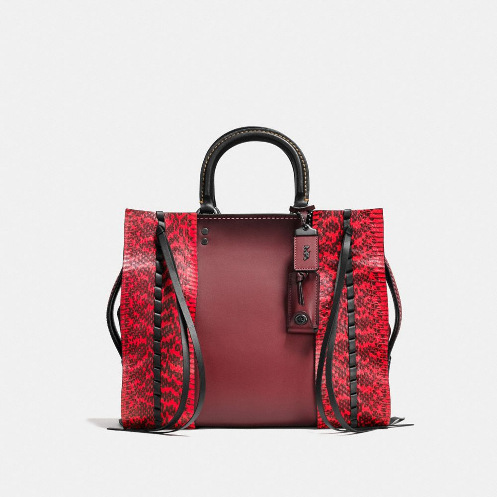 ROGUE BAG IN WHIPSTITCH SNAKE