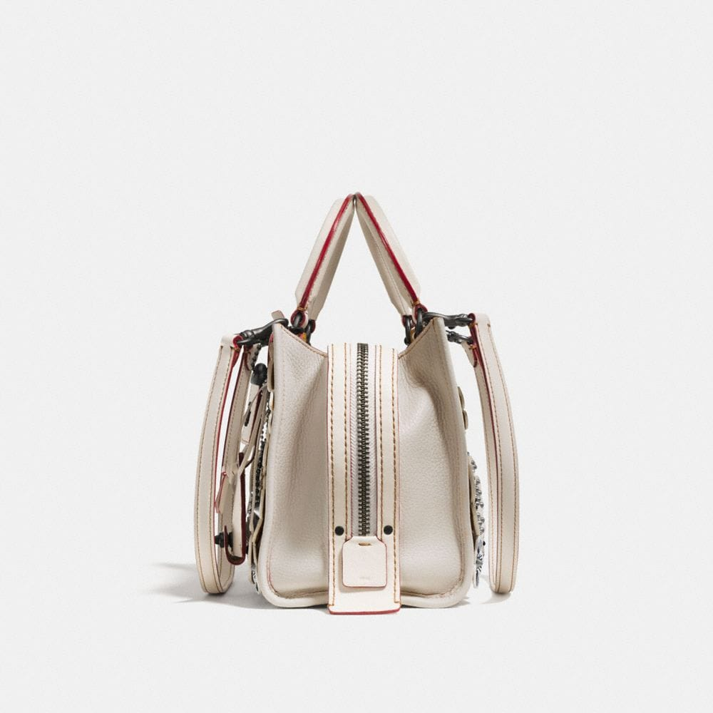 Coach Rogue 25 in Glovetanned Pebble Leather With Wild Tea Rose Alternate View 1