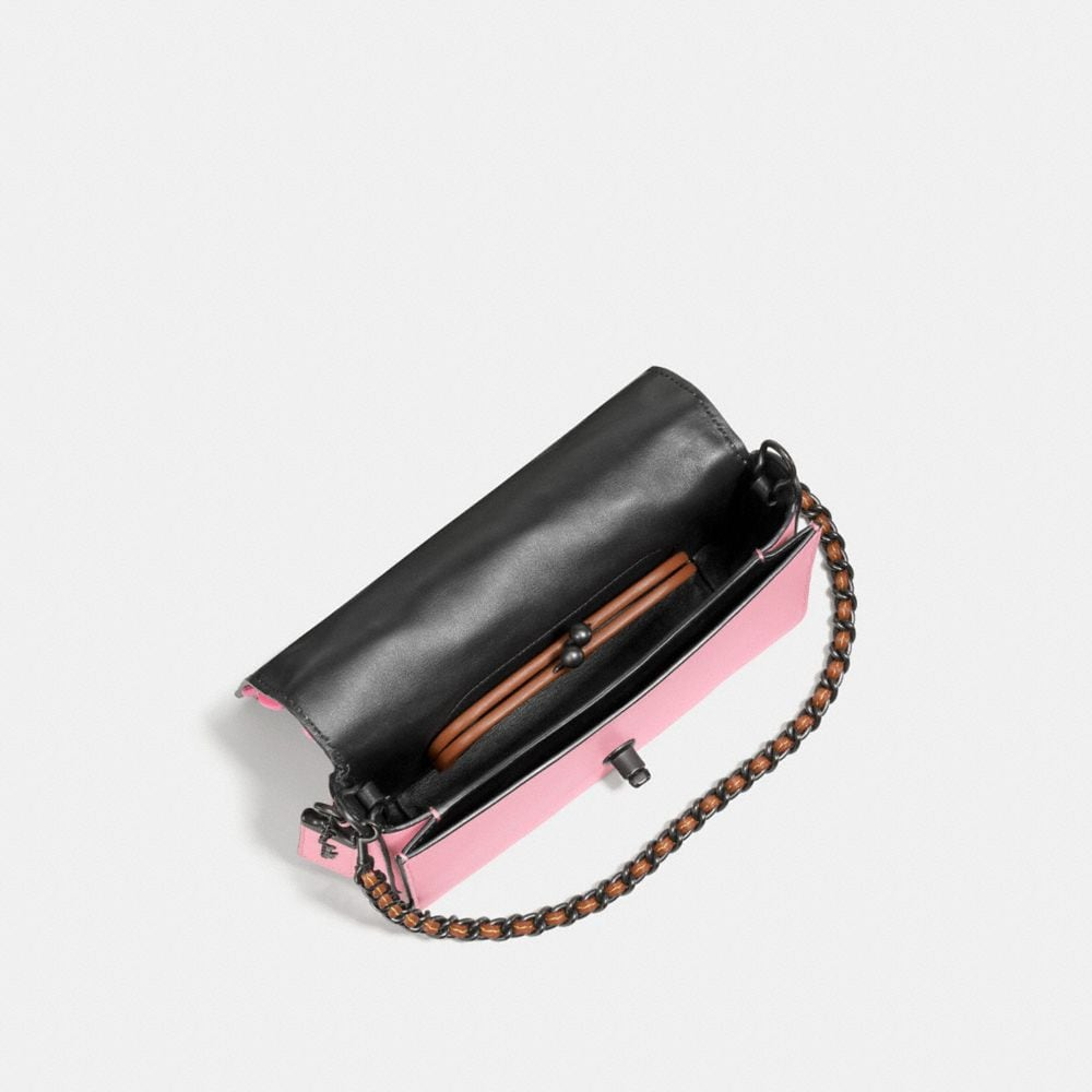 Dinky Crossbody With Wild Tea Rose - Alternate View A2