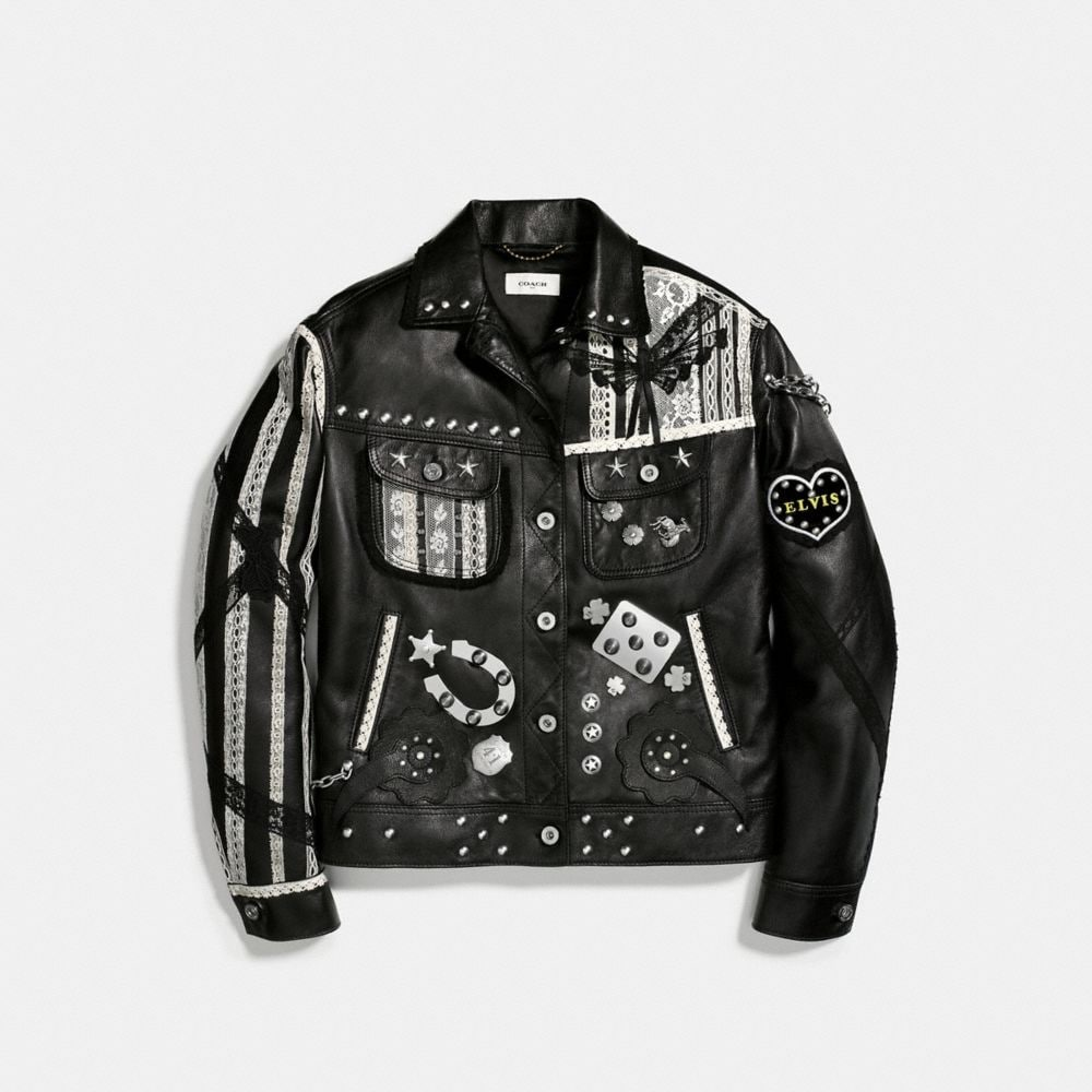 Customized Leather Jacket - Alternate View A1