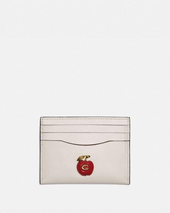 CARD CASE WITH APPLE