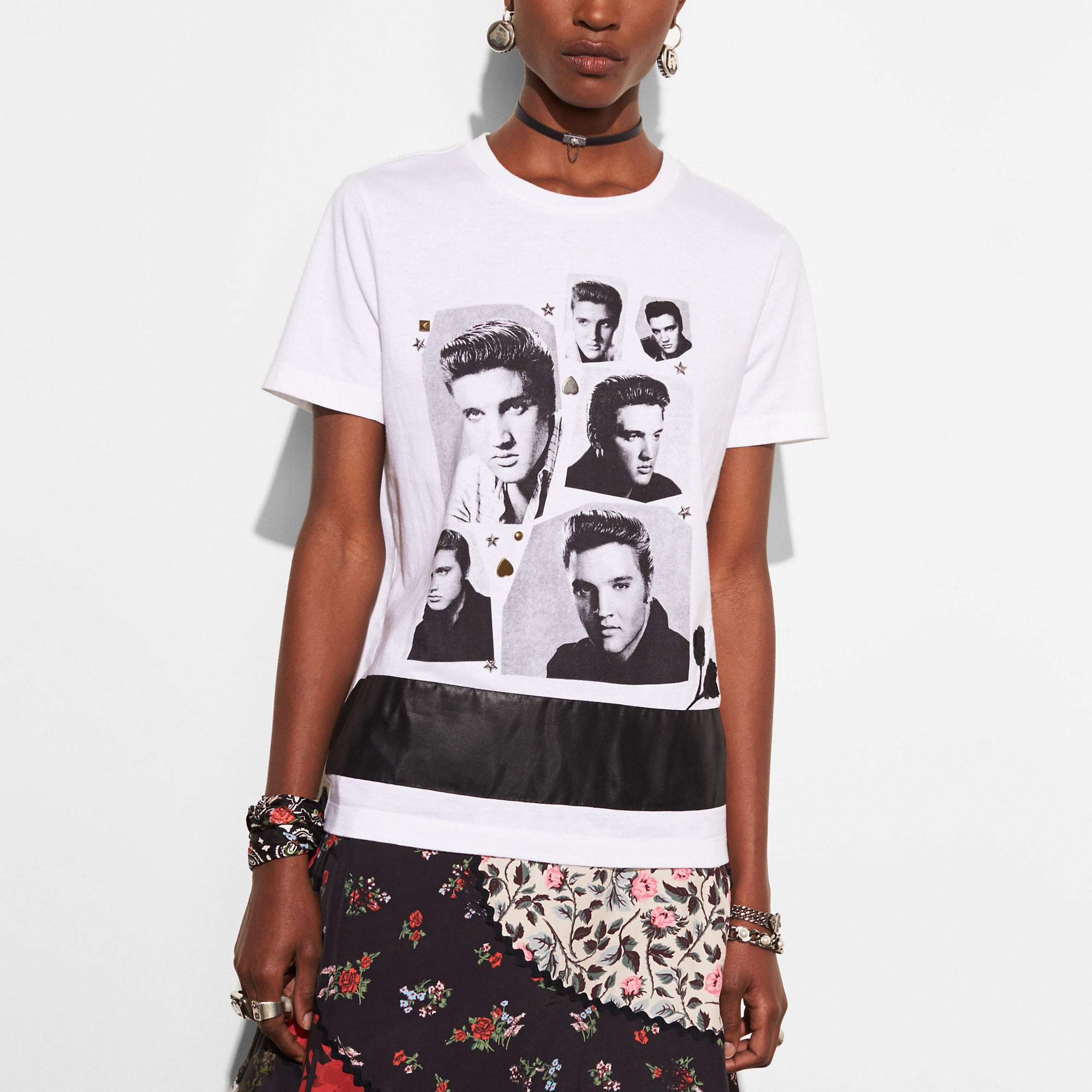 Coach Elvis Collage T-shirt