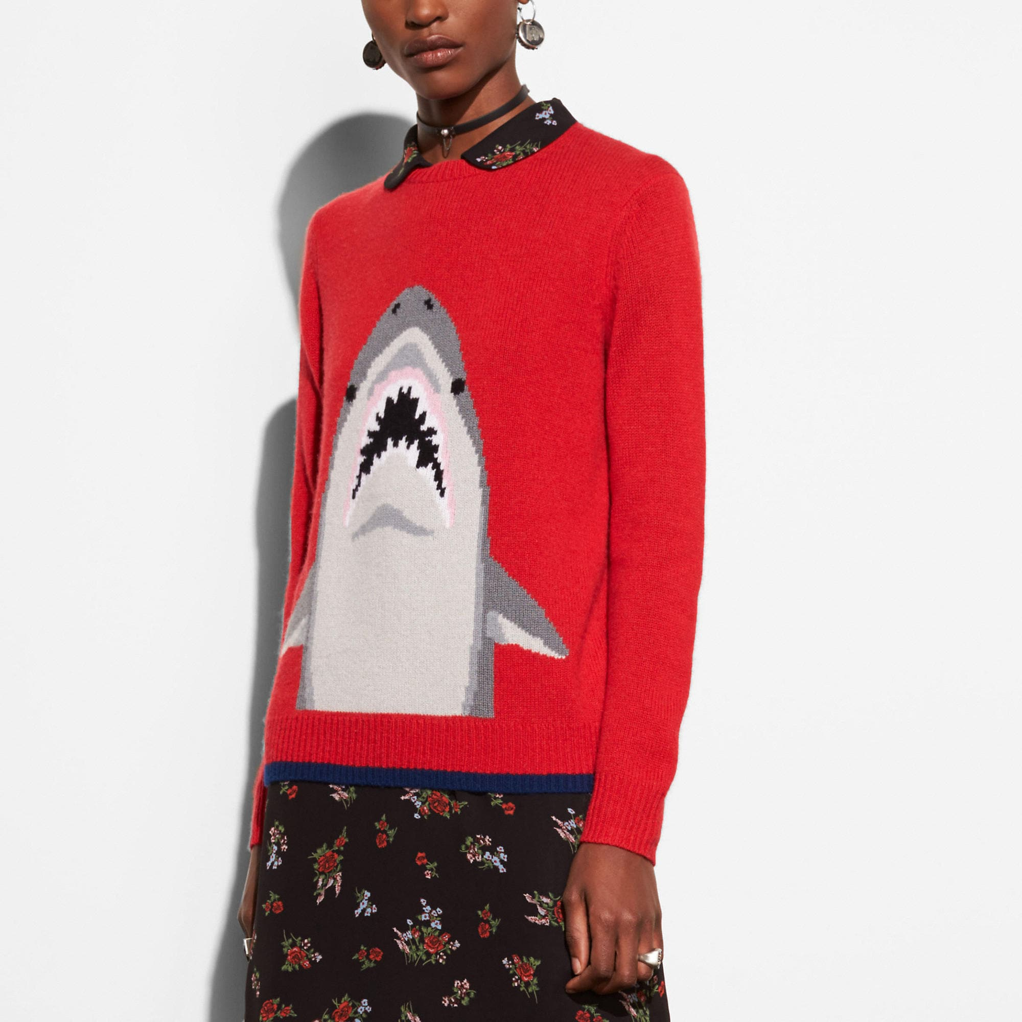 Coach Shark Crewneck