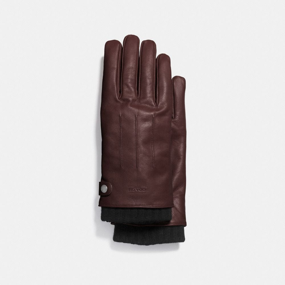 Coach 3-In-1 Glove in Leather