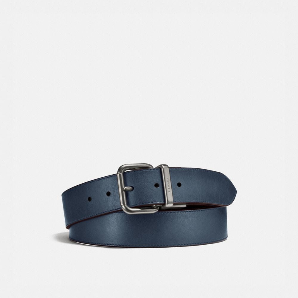 Coach Jeans Buckle Cut-To-Size Reversible Belt