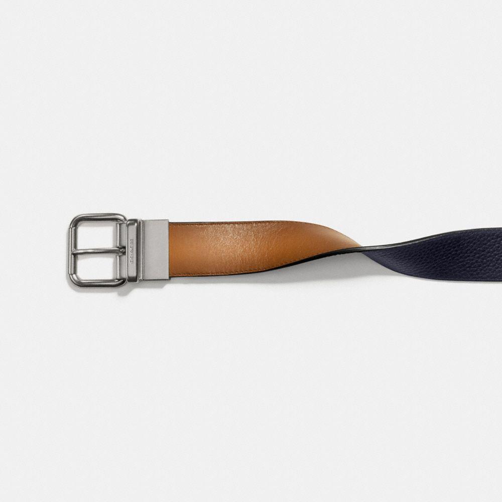 Coach Jeans Buckle Cut-To-Size Reversible Belt Alternate View 1