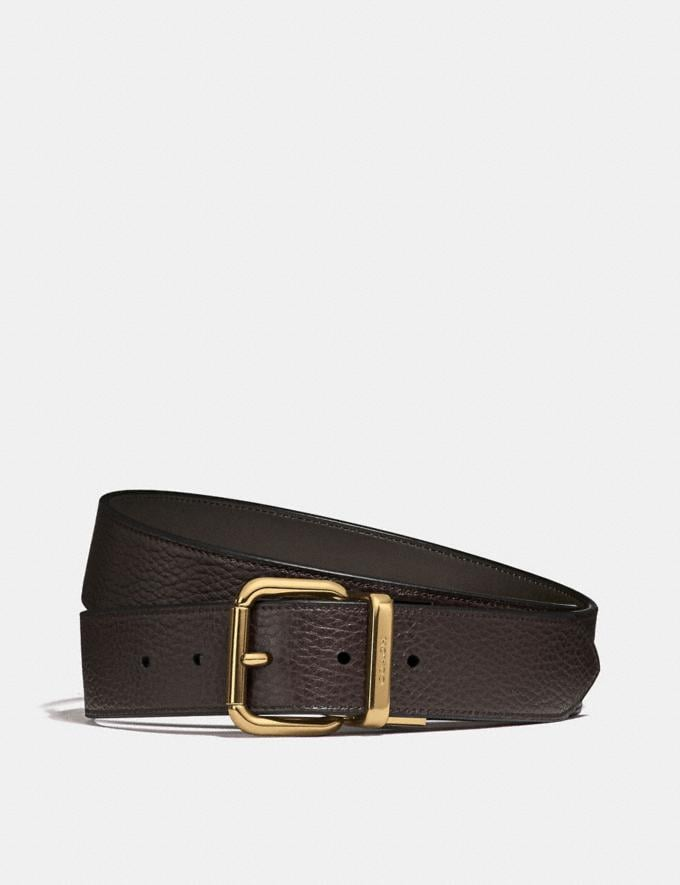 Coach Jeans Buckle Cut-To-Size Reversible Belt Pine/Chestnut Gifts For Him Bestsellers