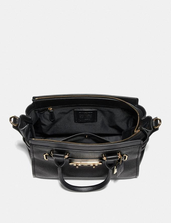 Coach Coach Swagger 27 Light Gold/Black  Alternate View 2