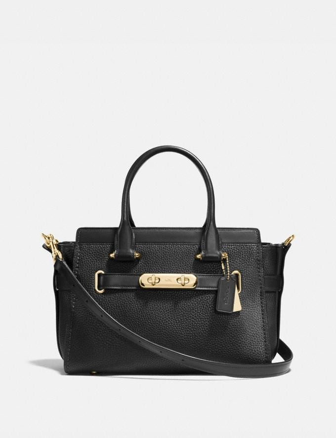 Coach Coach Swagger 27 Light Gold/Black