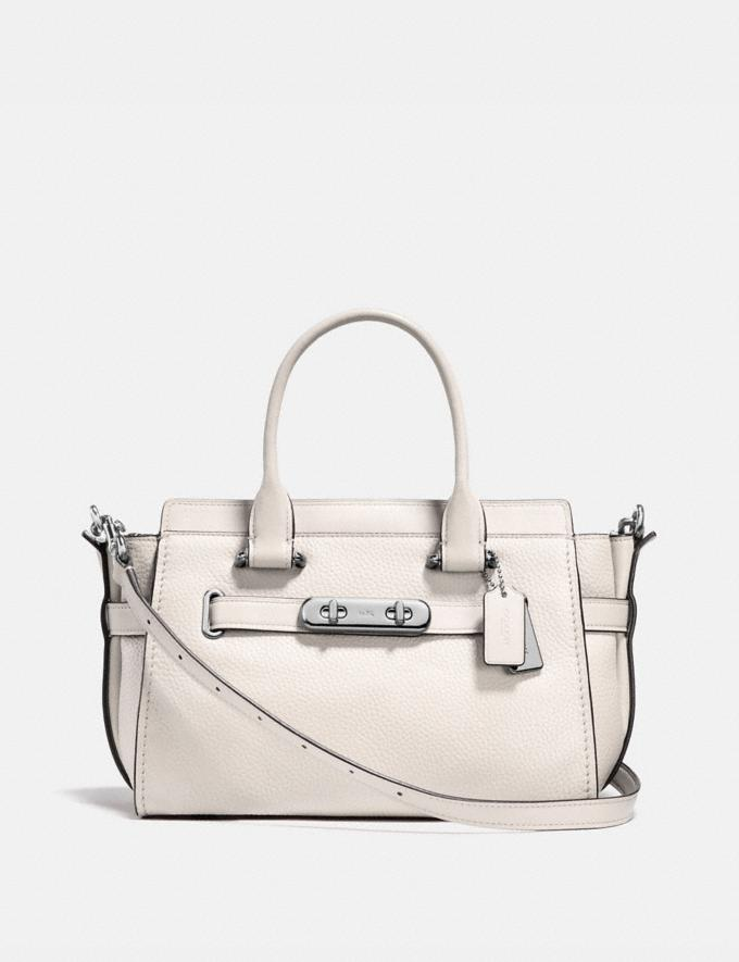 Coach Coach Swagger 27 Chalk/Silver Back In Stock Back In Stock Bags