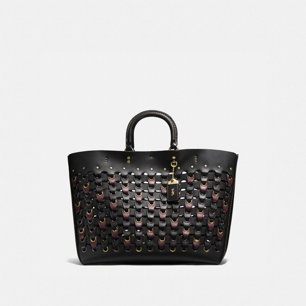 Coach Rogue Tote With Coach Link