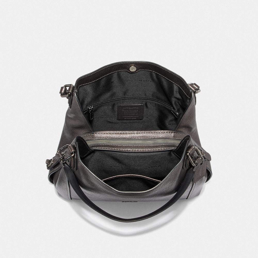 Coach Edie Shoulder Bag 31 in Metallic Leather Alternate View 2