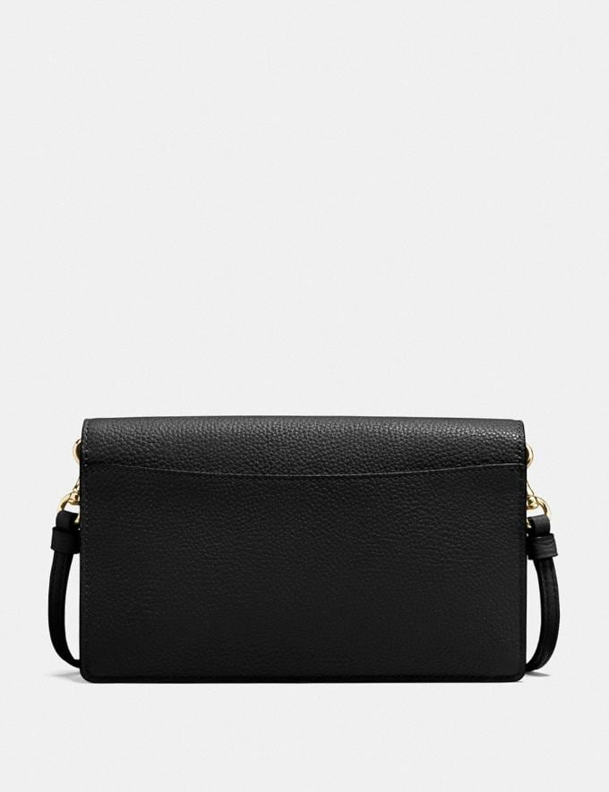 Coach Hayden Foldover Crossbody Clutch Li/Black New Women's New Arrivals Alternate View 2