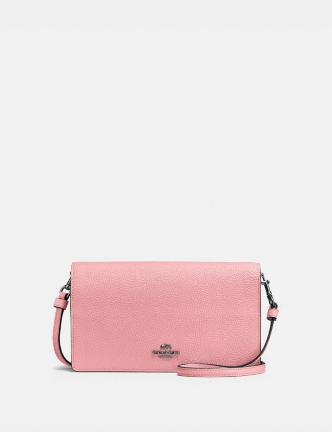 Coach Hayden Foldover Crossbody Clutch V5/Vintage Pink Gift For Her Under €250