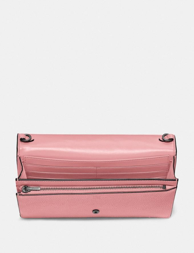 Coach Hayden Foldover Crossbody Clutch V5/Vintage Pink Gift For Her Under €250 Alternate View 2