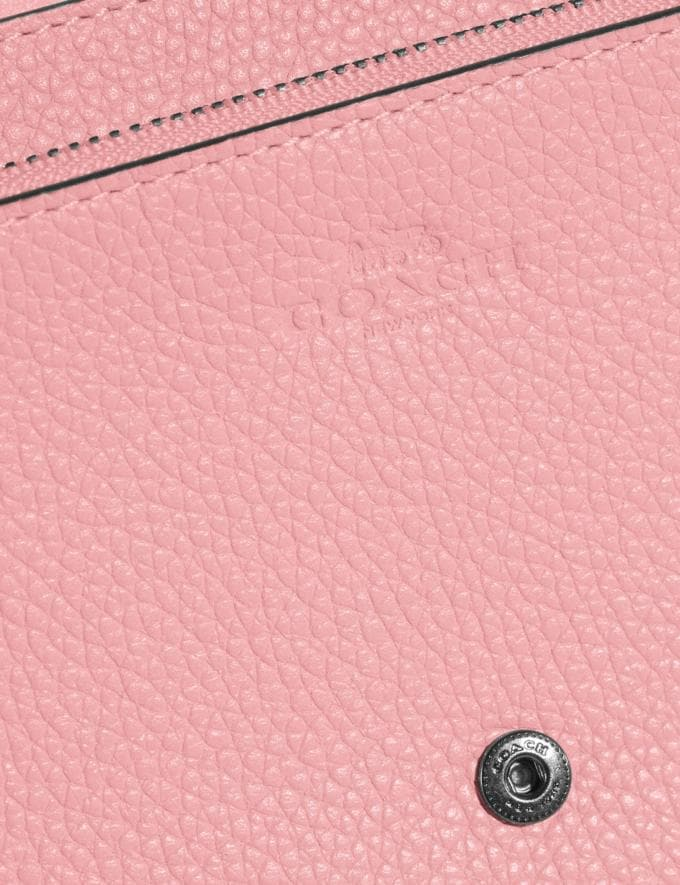 Coach Hayden Foldover Crossbody Clutch Pewter/Vintage Pink Gift For Her Under €250 Alternate View 4