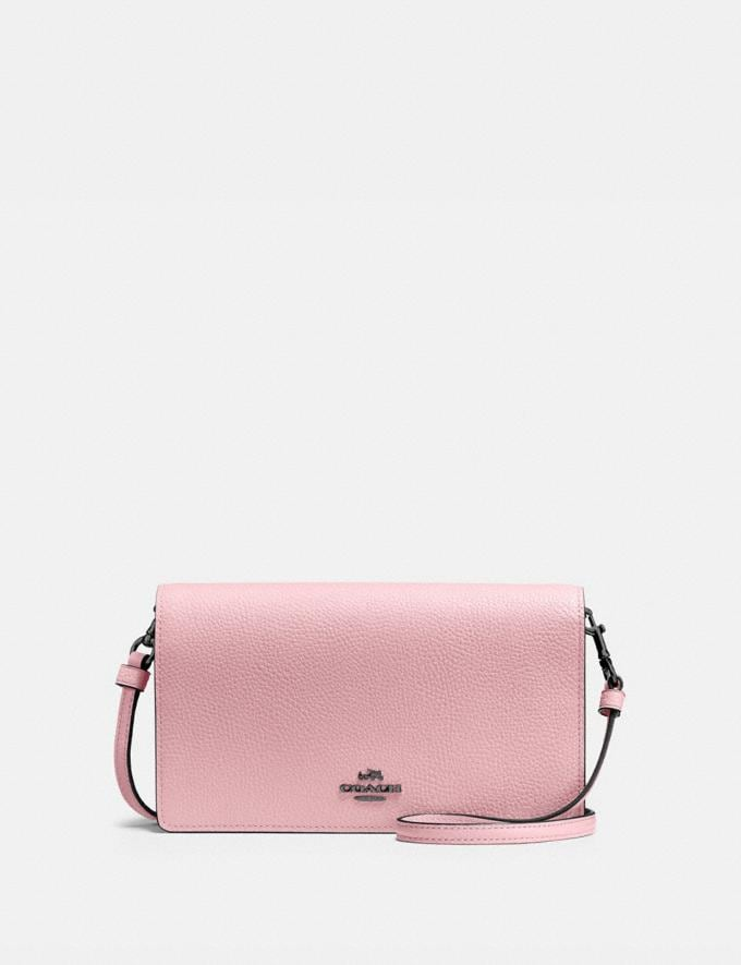Coach Hayden Foldover Crossbody Clutch Pewter/Aurora Customization Personalize It Monogram for Her